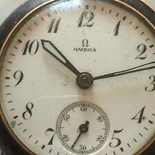 Montre Militaire Oméga WWI Military Pocket Watch Swiss Taschenuhr Reloj