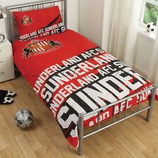 Ufficiale Sunderland f.c.impact Singolo Copripiumino Set di biancheria da letto