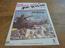 JOE WALSH - THERE GOES!!!!!!!!!!!!!!!!!!!!FRENCH ADVERT