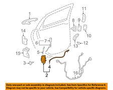 Chevrolet GM OEM 06-11 Impala Rear Door-Lock or Actuator Latch Release 20790500