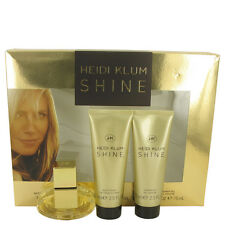 Heidi Klum Shine Perfume Gift Box Set 1 oz Eau De Toilette Spray Body Lotion
