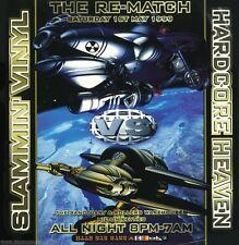 SLAMMIN VINYL VS HARDCORE HEAVEN - THE RE-MATCH (TECHNO CD COLLECTION) (NORTH)