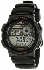 Casio Men's Digital Chronometer Watch, 10 ATM, 5 Alarms, AE-1000W-1AV
