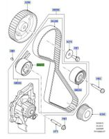LAND ROVER GENUINE PULLEY TENSION-Discovery Sport, Freelander,Range Rover Evoque