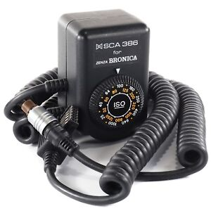 Zenza Bronica SCA386 ETRSi & SQ-Ai Metz TTL Flash Sensor for Series 45 CT CL (9)