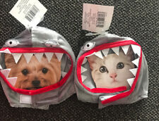 SHARK HEADPIECE Halloween Dog Cat Pet Costume  1 PC Size XS/S
