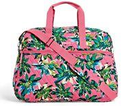 Vera Bradley Grand Traveler Carry On/Overnight Bag in Tropical Paradise  - $138