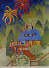 """""""4th of July Starr Hill"""" Rie Munoz - Limited Edition print - MINT"""
