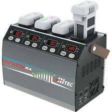 Hitec Phantom X4 Smart Battery LIPO CHARGER for DJI 3/4 - CHARGE 4 PACKS -