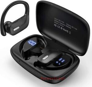 Bluetooth 5.0 Headset Wireless Earphones Stereo Noise Reduction Sport Ear-hook
