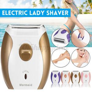 Electric Razor Lady Shaver Hair Bikini Legs Trimmer Wet/Dry Shaving Machin