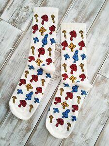 Anthropologie Mushroom Print Socks