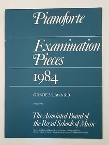 ABRSM Pianoforte Examination Pieces 1984 Grade 2