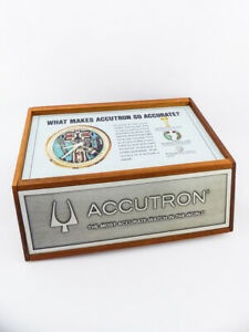 Bulova ACCUTRON presentation display  (advertising for retailers)