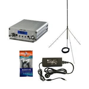 3W/15W Stereo Audio FM Transmitter Mini Radio Broadcast PLL Station 87MHz-13CHF