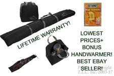 NEW High Sierra SKI Bag and Boot Bag Combo-Black+Bonus Handwarmers