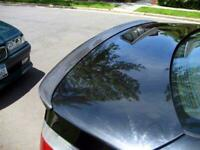 Heckspoiler Carbon Spoiler Lippe Flügel für BMW 5er E60 Abrisskante Heckansatz