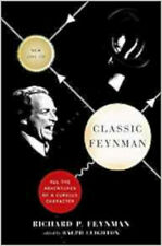 Classic Feynman: All the Adventures of a Curious Character, Excellent, Leighton,