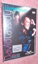 David Cassidy Live in Concert at Glasgow  UK DVD, very rare