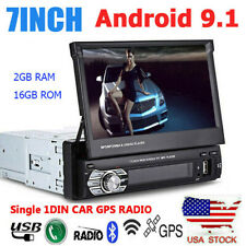 Android 9.1 Single 1Din Car GPS Stereo 7 inch HD Screen WIFI FM Radio MP5 Player
