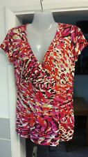 Ladies Women's Pink Summer Top Size 10 by George