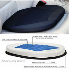 Rubber Orthopedic Gel Cushion For Drivers Car Seat Office Chair Stadium w/ Memor