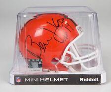NEW Bernie Kosar Signed Autographed Browns Riddell Mini Helmet