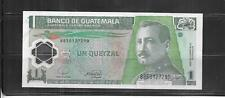 GUATEMALA #115a 2008 QUETZAL VF CIRC  POLYMER BANKNOTE PAPER MONEY NOTE