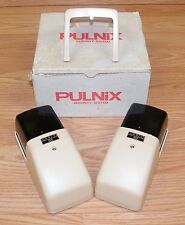 Vintage PULNiX (PH-15SH) Infrared Transmitter & Reciever Security System - JAPAN