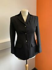 Dublin Horse Riding Jacket Black Button Up Country Hacking Equestrian Age 12