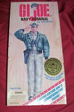 "1996 GI Joe Navy Admiral Hasbro Vintage 12"" Action Figure Limited Edition WWII"