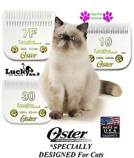 OSTER A5 LUCKY no.9 félin 7F, 10&30 set lame toilettage de chat fitmost Andis