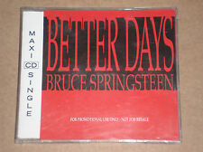 BRUCE SPRINGSTEEN - BETTER DAYS - RARO CD SINGOLO PROMO COME NUOVO (MINT)