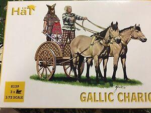 1/72 Ancient Gallic Gaul Briton Chariot 8139
