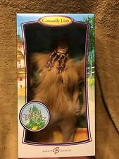NEW IN BOX BARBIE COLLECTOR PINK LABEL WIZARD OF OZ COWARDLY LION DOLL SFA