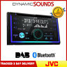 JVC KW-DB93BT Double Din Tuner Bluetooth DAB CD MP3 USB AUX iPod Android Stereo