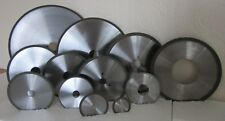 Diamond Resin Bond Cut Off Wheels Also CBN. Various Diameters / Bores UK Seller