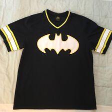 DC Comics Batman 00 Football Jersey Shirt Mens Large Excellent Condition