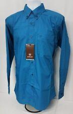 Ariat Solid Poplin long sleeve button shirt. Mens size MEDIUM