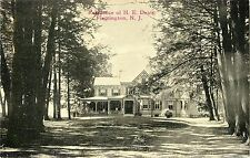 A View of the Residence of H.E. Deats, Flemington NJ
