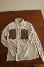 EUC Simms Fishing G4 TriComp LS Shirt, Size M Grey Color Technical Fishing Shirt