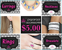 NEW PAPARAZZI JEWELRY~ Bracelets,Earrings,Rings and Necklaces! YOU PICK! (166)
