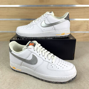 Nike Air Force 1 '07 LV8 Low Crater Grind White Shoes DA4676-100 Size 10.5