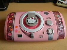 Smoby 027171 - Musik-Center Hello-Kitty - CD & Radio - AUX in - top Zustand
