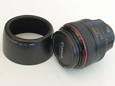 Canon EF 85mm F/1.2 L USM Lens Superb Condition