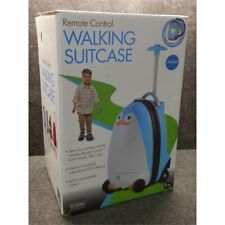 iCozy Kids Luggage Battery Powered RC Remote Control Suitcase - Penguin