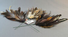 Assorted Feathers on Wire 3 arts crafts neede felting fly tying decorating