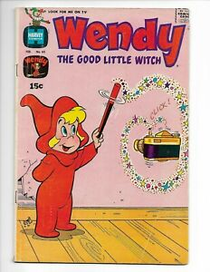 Wendy the Good Little Witch #65 (Harvey 1971) – Casper – Spooky – Origin – VG/FN