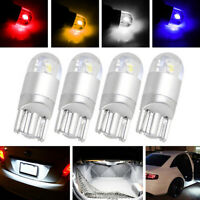 4Pcs T10 3030 2-SMD LED High Power Interior Light Bulb W5W 194 168 2825_ti
