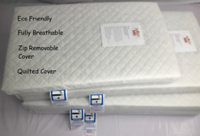 NEW My Babiie Travel Cot Mattress  FULLY BREATHABLE Mattress